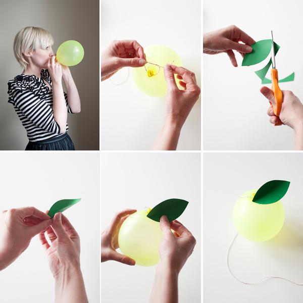 balonove ovocie postup 1