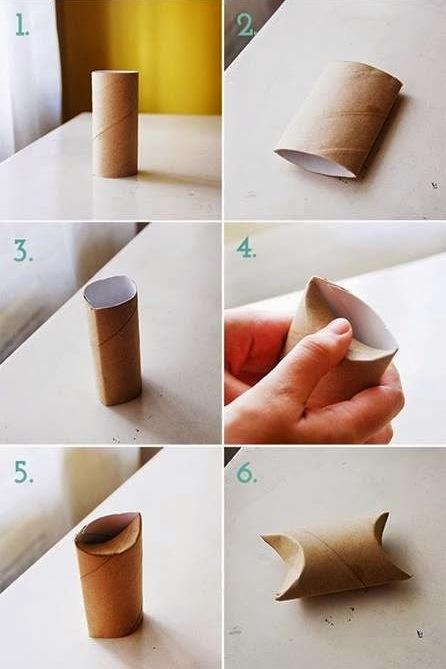 darčeková škatuľka postup