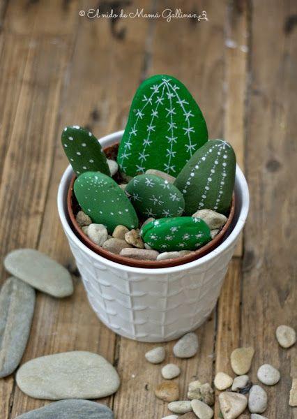 kaktusy z kameňov
