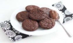 nutelové cookies