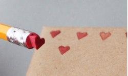 peciatka v tvare srdca