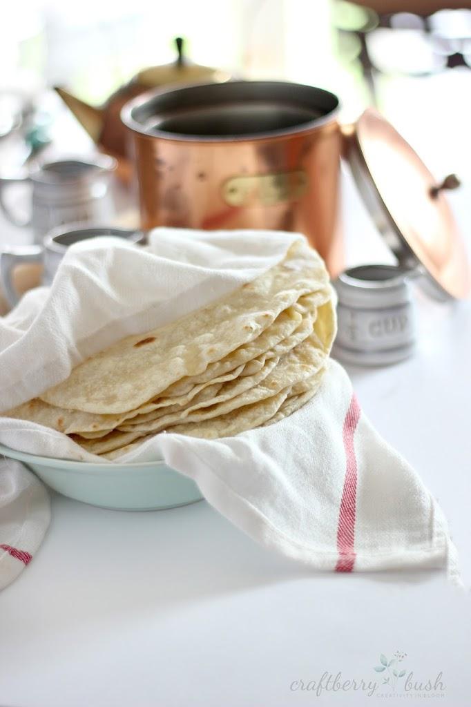 recept na domace tortilly
