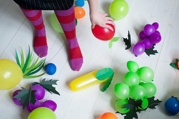 balonove ovocie