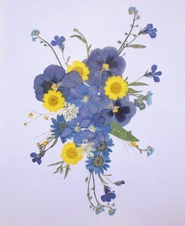 pohľadnica s kvetmi