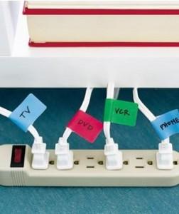 praktické označenie kablov