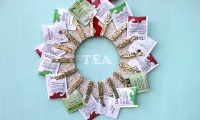držiak čajových vrecúšok