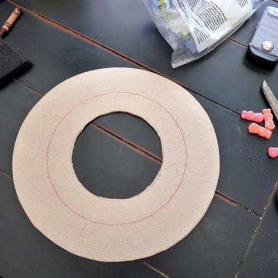 kruh na držiak čajových vrecúšok